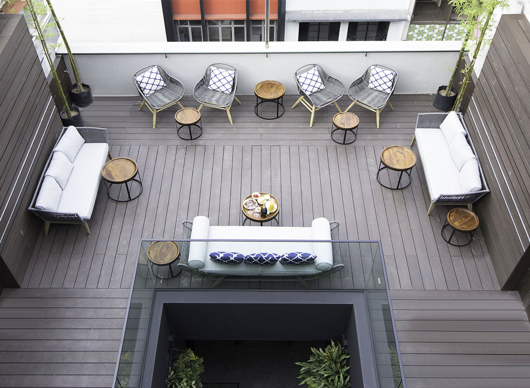 Outdoor Roof Hotel NuVe Elements Singapore